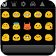 Emoji Keyboard+ WhiteBlueTheme